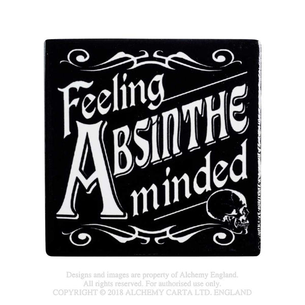 Alchemy Gothic Feeling Absinthe Minded Coaster Home Decor