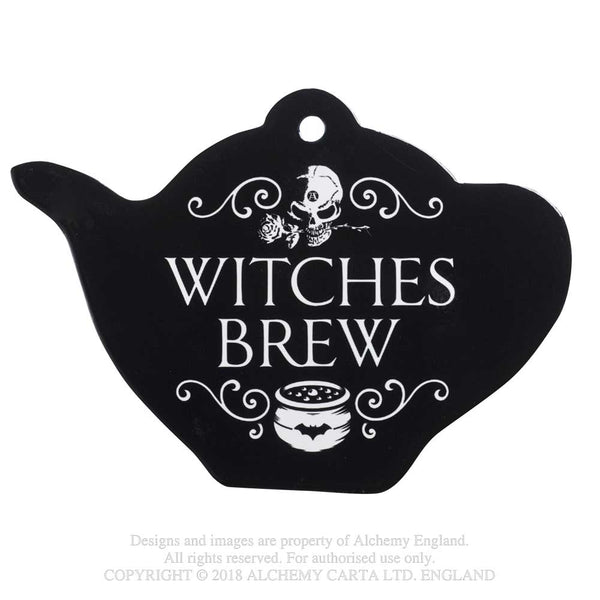 Alchemy Gothic Witch's Brew Trivet Coaster Kitchen