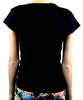 Original Goth with Bat Women's Babydoll Shirt Dark Underground Wear
