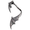 Alchemy Gothic A Night With Goethe Bat Wing Earwrap Earring