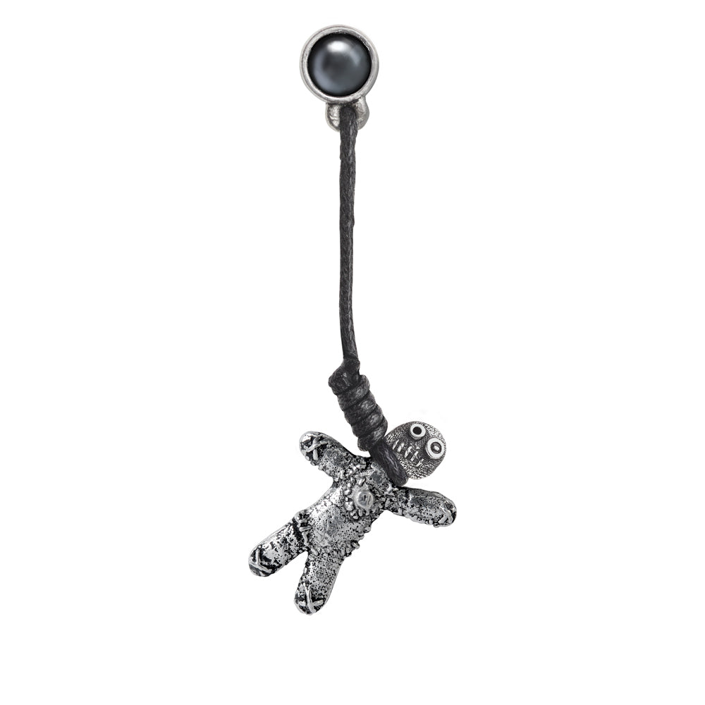 Alchemy Gothic Voodoo Doll Earring