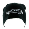 Funeral Hearse Car Beanie Knit Cap Dragula Alternative Gothic Clothing