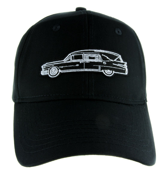 Funeral Hearse Car Hat Baseball Cap Dragula Alternative Gothic Clothing