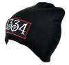 1334 Black Plague Beanie Knit Cap Alternative Clothing Death