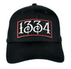 1334 Black Plague Hat Baseball Cap Alternative Clothing Death
