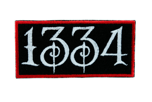 Black Plague of Death 1334 Patch Iron on Applique Alternative Clothing Rozz Williams
