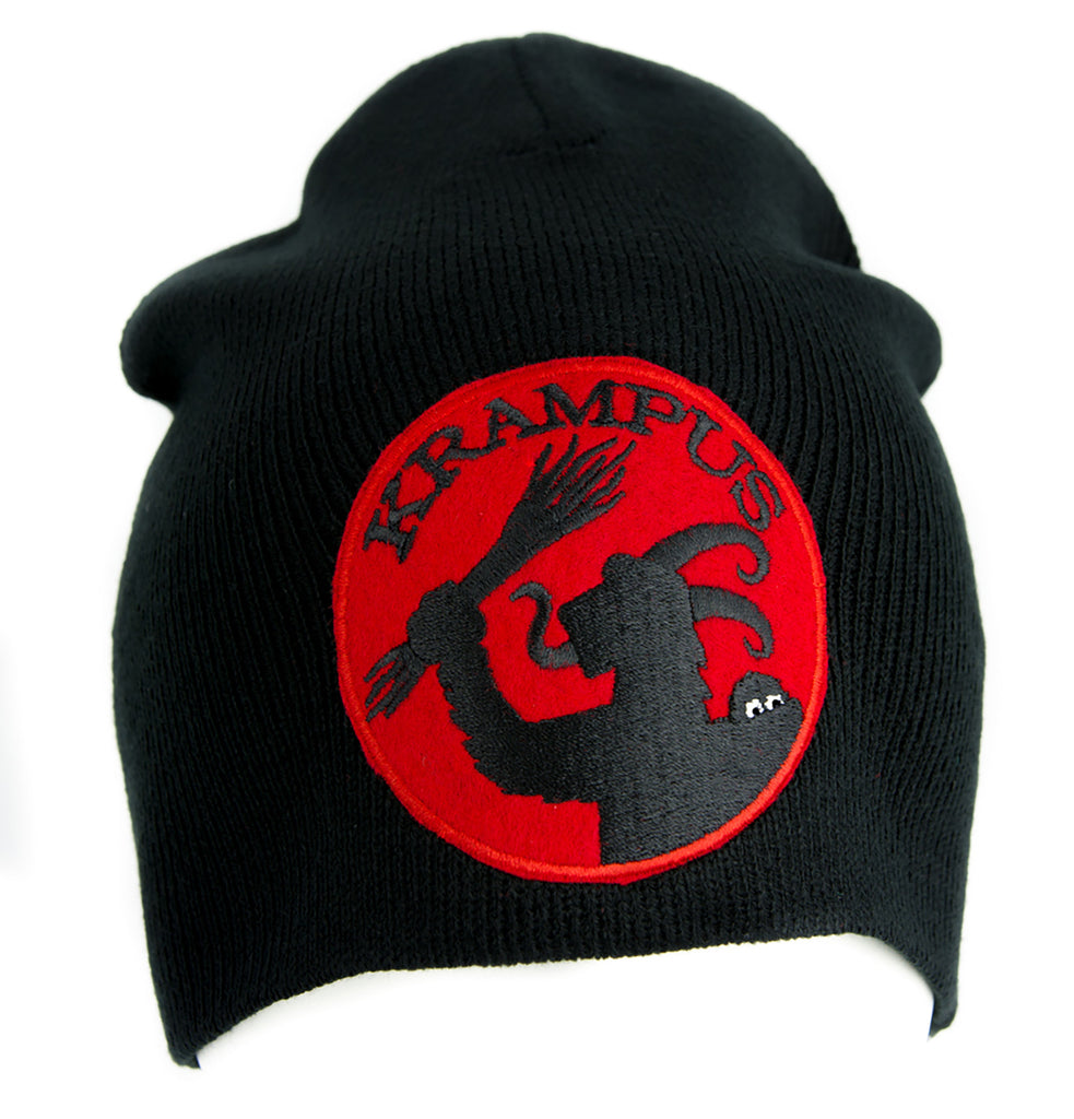 Gross Vom Krampus Beanie Alternative Style Clothing Knit Cap Merry Christmas Horror