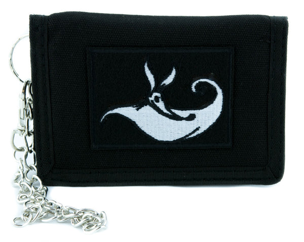 Zero Doggie Tri-fold Wallet w/ Chain Gothic Clothing Nightmare Before Christmas