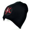 Satanic Symbol Lightning Bolt Pentagram Beanie Knit Cap Occult Clothing