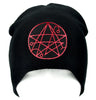 Necronomicon Gate Alchemy Symbol Beanie Knit Cap Occult Clothing