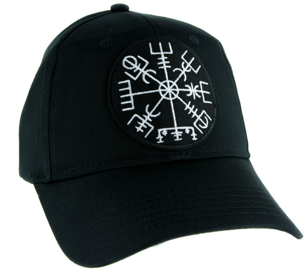 Vegvisir Viking Compass Symbol Hat Baseball Cap Alternative Clothing Norse Gods