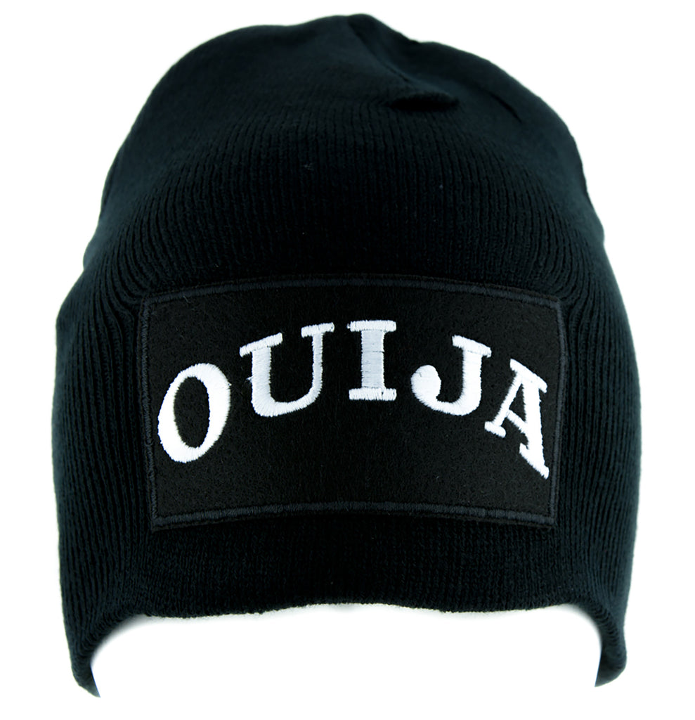 Ouija Spirit Board Beanie Alternative Clothing Knit Cap Witchcraft Wicca Occult