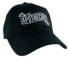 The Apothecary Hat Baseball Cap Occult Clothing Steampunk Old World Drug Co.