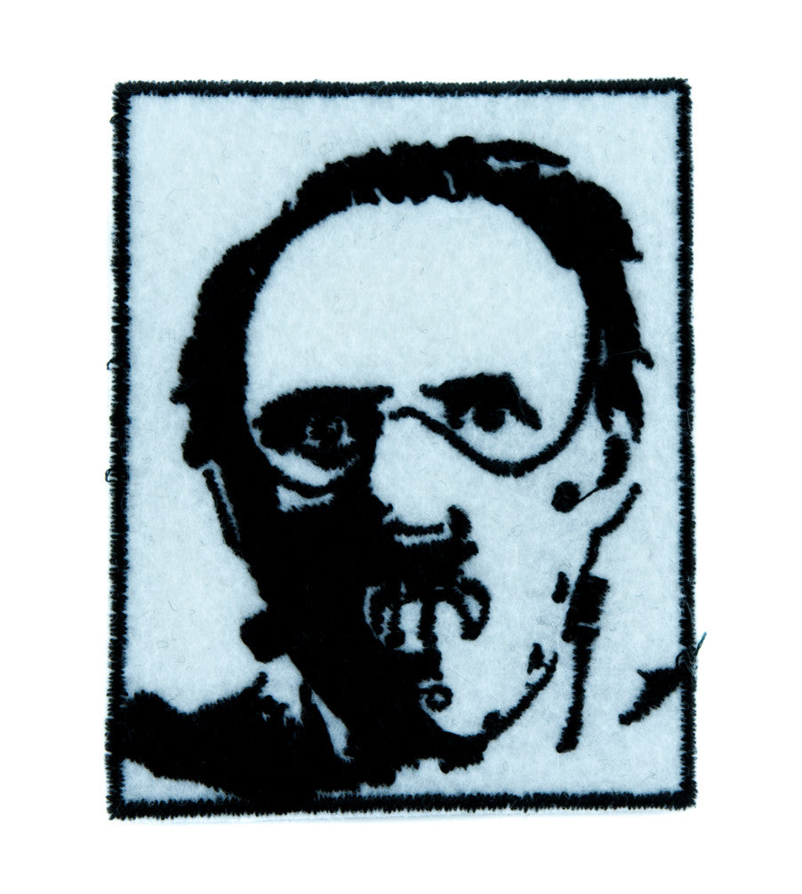 Dr. Hannibal Lecter Patch Iron on Applique Horror Clothing Silence of the Lambs