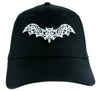 Gothic Wrought Iron Vampire Bat Hat Baseball Cap Dracula