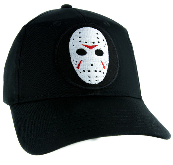 Hockey Mask Friday the 13th Hat Baseball Cap Horror Clothing Jason Voorhees