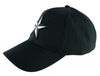 White Nautical Star Hat Baseball Cap Alternative Clothing Rockabilly Tattoo Symbol