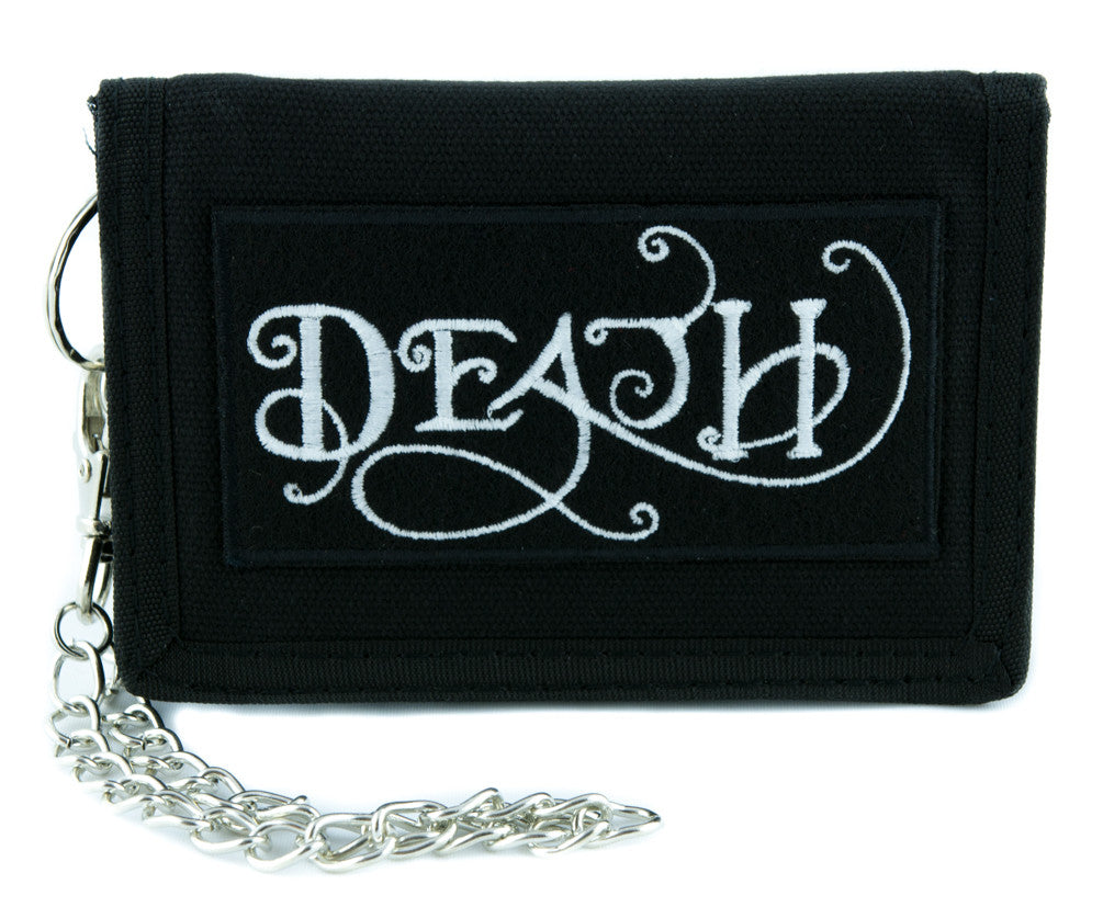 Death Symbol Tri-fold Wallet Alternative Clothing Grim Reaper Seventh Seal