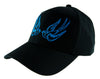 Blue Swallow Sparrow Birds Hat Baseball Cap Alternative Clothing Rockabilly Tattoo Symbol