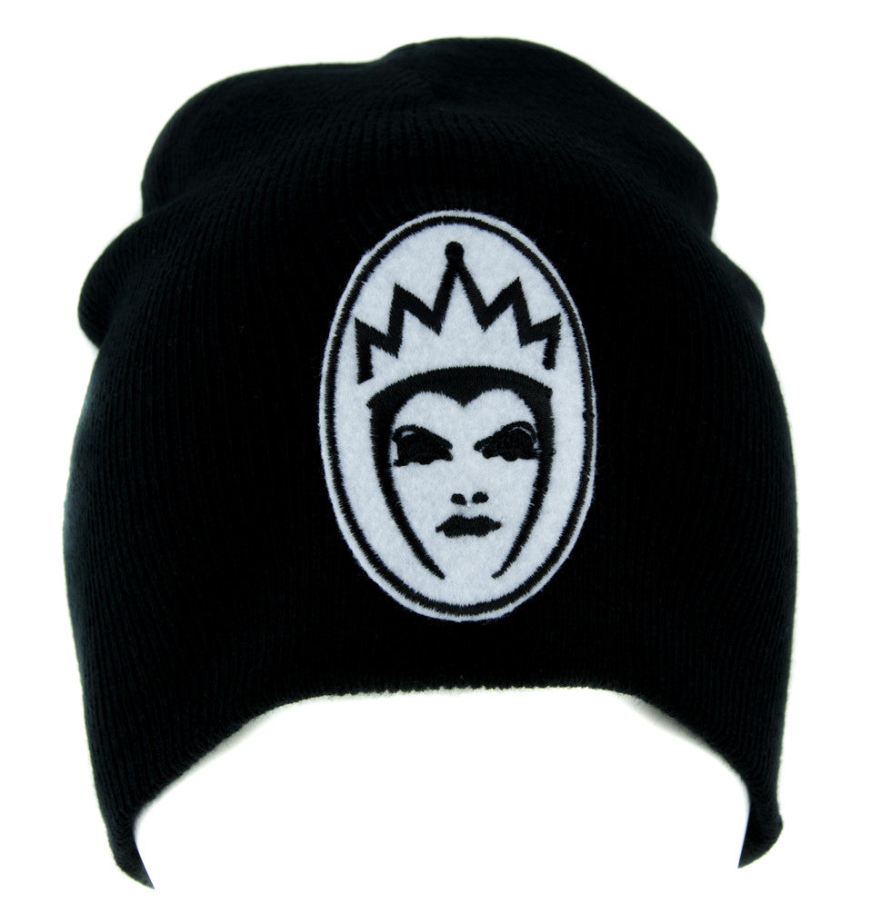Evil Queen of Snow White Beanie Knit Cap Goth Alternative Clothing Brothers Grimm Villain