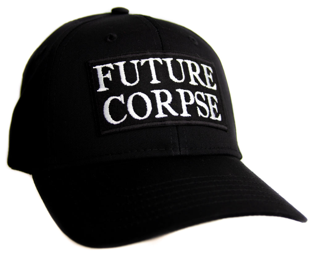 Future Corpse Hat Baseball Cap Occult Horror Dead Undead