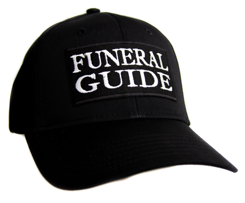 Funeral Guide Hat Baseball Cap Occult Horror Dead Undead