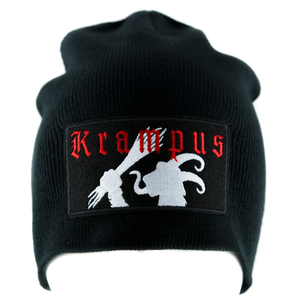 Gruss Vom Krampus Beanie Knit Cap Alternative Occult Clothing Merry Christmas