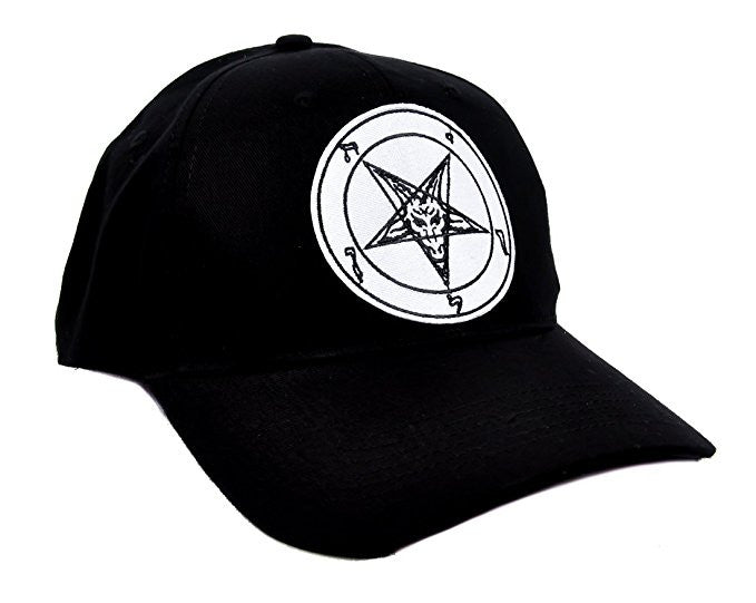 Worshiping Baphomet Hat Baseball Cap Occult Metal Clothing