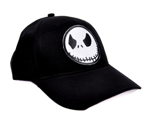 Angry Jack Skellington Hat Baseball Cap Gothic Clothing  Nightmare Before Christmas