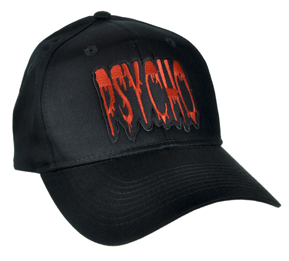 Blood Drip Psycho Hat Baseball Cap Alternative Alfred Hitchcock Gothic –  Dysfunctional Doll dd8ca405518