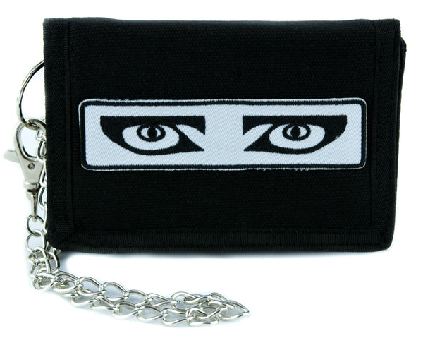 Siouxsie and the Banshees Tri-fold Wallet w/ Chain Gothic Alternative Clothing