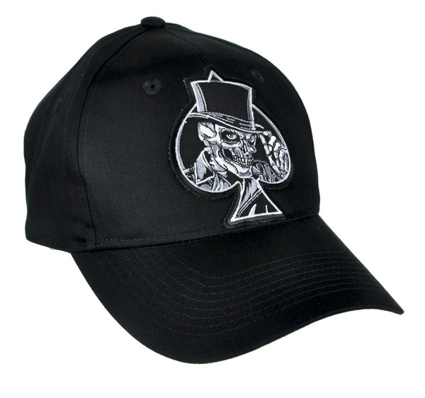 Ace of Spades Skull Top Hat Baseball Cap Alternative Clothing