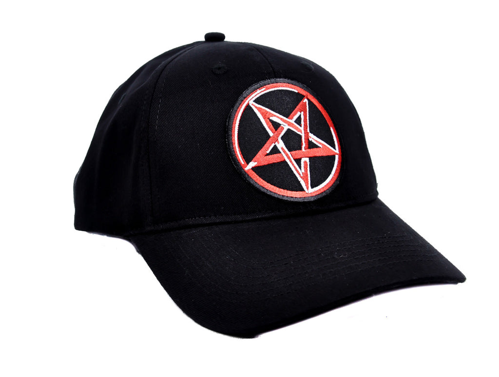 Pentagram Star Hat Baseball Cap Occult Metal Clothing