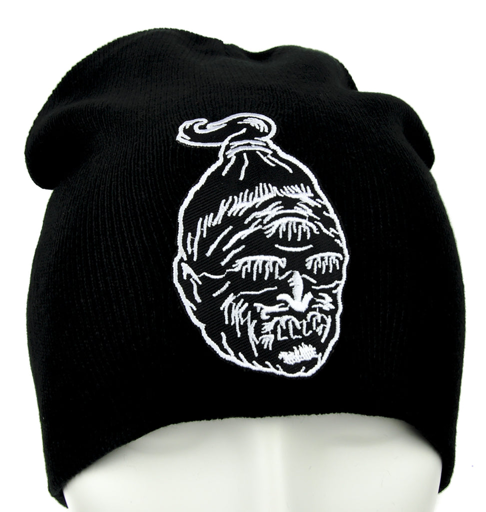 Headhunter Shrunken Head Beanie Occult Clothing Knit Cap