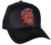 Classic Red Devil Hat Baseball Cap Tattoo Rockabilly Clothing