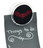 Gothic Wrought Iron Red Vampire Bat Magnet Clip Novelty Gift Fridge Mag
