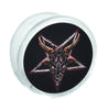 Goat Head Baphomet Magnet Clip Pentagram Novelty Gift Fridge Mag