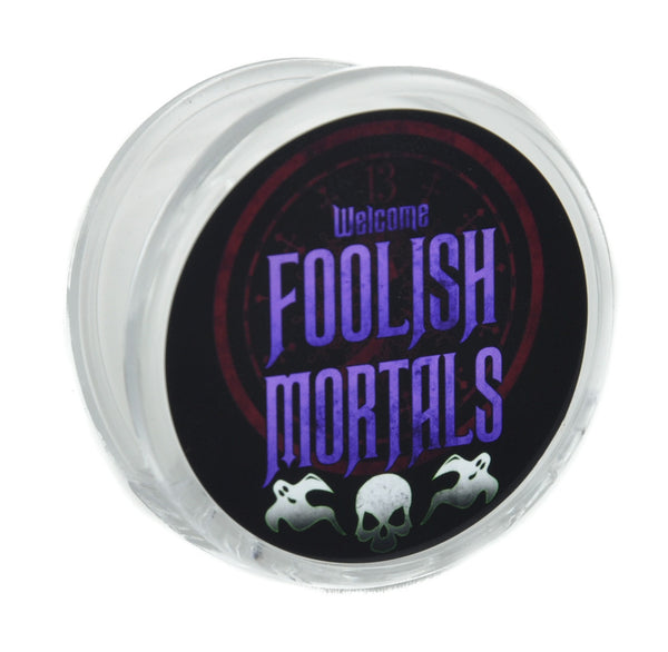 Welcome Foolish Mortals Magnet Clip Haunted Mansion Novelty Gift Fridge Mag