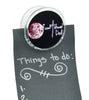 Dysfunctional Doll Gothic Clothing Logo Magnet Clip Occult Novelty Gift Fridge Mag