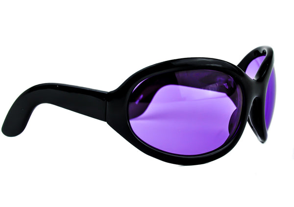 50c795887cf2 Purple Lens DJ Pon Cosplay Sunglasses Oversized Glasses – Dysfunctional Doll