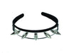 Spike & Metal Plate Headband Hair Hairpiece Alternative Cosplay