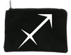 Zodiac Sagittarius Sign Cosmetic Makeup Bag Pouch Astrology Horoscope The Archer