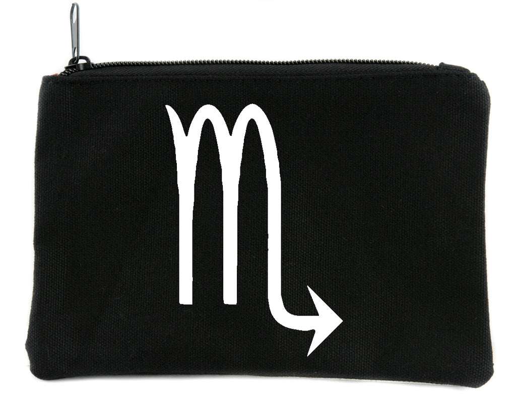 Zodiac Scorpio Sign Cosmetic Makeup Bag Pouch Astrology Horoscope The Scorpion