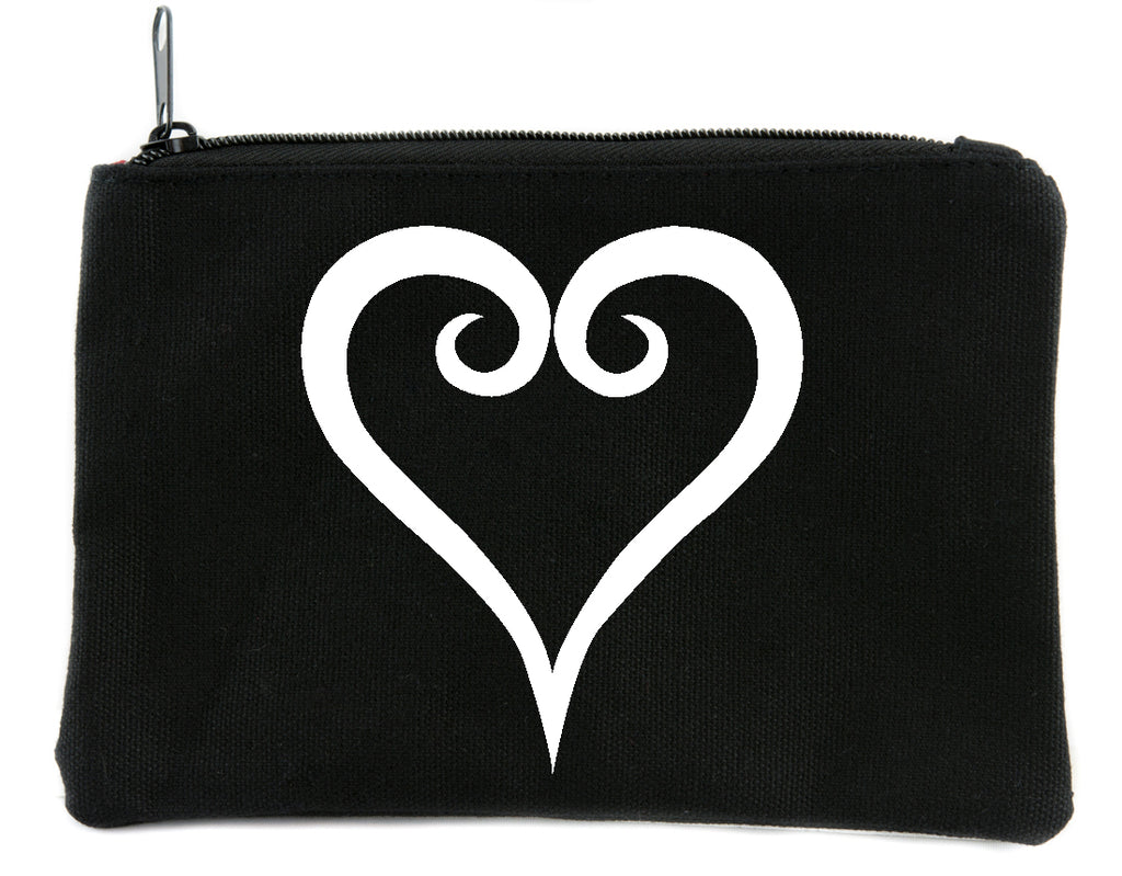 Kingdom Hearts Cosmetic Makeup Bag Pouch Anime Gamer Accessories