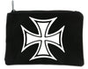 Iron Cross Solid Cosmetic Makeup Bag Pouch Accessories Military World War II
