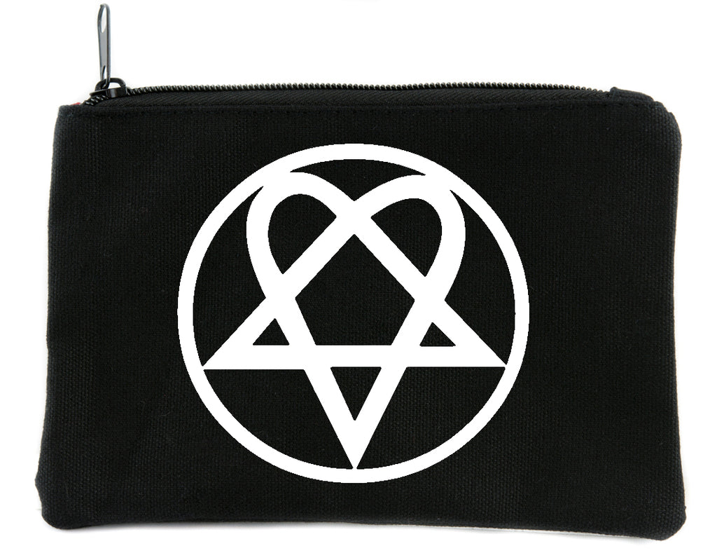 Heartagram HIM Cosmetic Makeup Bag Pouch Ville Valo Gothic Metal Accessories