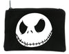 Evil Grin Jack Skellington Face Cosmetic Makeup Bag Pouch Nightmare Before Christmas