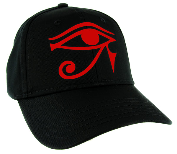 Red Egyptian God Eye of Ra Horus Hat Baseball Cap Ancient Egypt Sun God