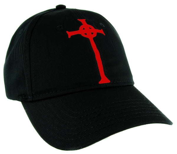 Red Vampire Hunter D Cross Tombstone Hat Baseball Cap Anime