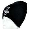 Inverted Cross Pentagram Beanie Occult Clothing Knit Cap